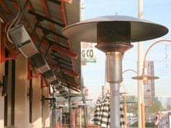 Outdoor Commercial Heaters